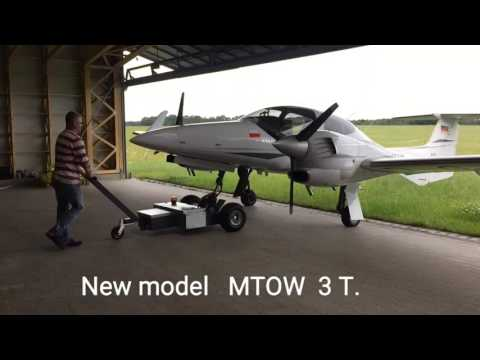 Electric power tow for aircraft  MTOW  3 T.