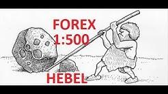 Forex Trading für Anfänger auf Deutsch - Der Hebel erklärt!
