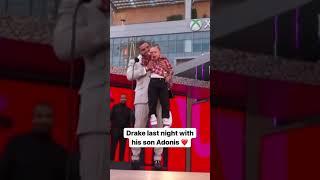 Drake last night with his son tiktok xboxpromoclip