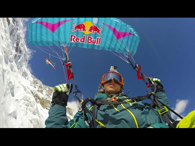 This is What Skiing With a Parachute Looks Like - Speedriding POV