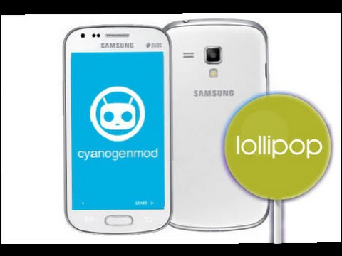 Samsung Galaxy S duos 2 (Gt-S7582) - Cm 12.1 (Android Lollipop) Installation and Walkthrough