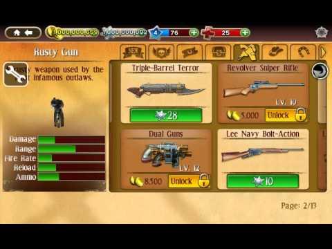 six guns apk mod unlimited money and stars