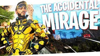 The Accidental MIRAGE! - PS4 Apex Legends!