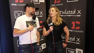 Jason Aldean Talks Rental Cars, Playlists and His New Album Before the ACMs in Las Vegas