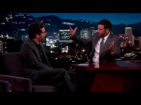 Wagner Moura on talk show Jimmy Kimmel