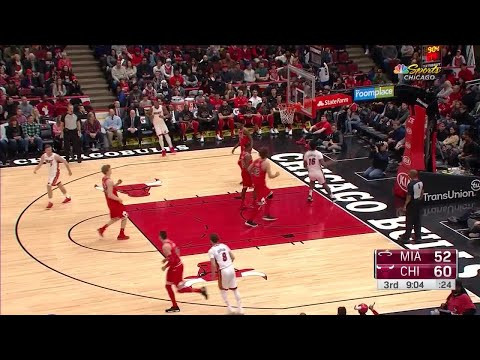3rd Quarter, One Box Video: Chicago Bulls vs. Miami Heat