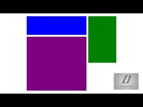 Tutorial Html Y Css | Posicionamiento De Divs En El Contenedor General (basico)
