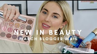 NEW IN BEAUTY BLOGGER MAIL UNBOXING MARCH || STYLE LOBSTER