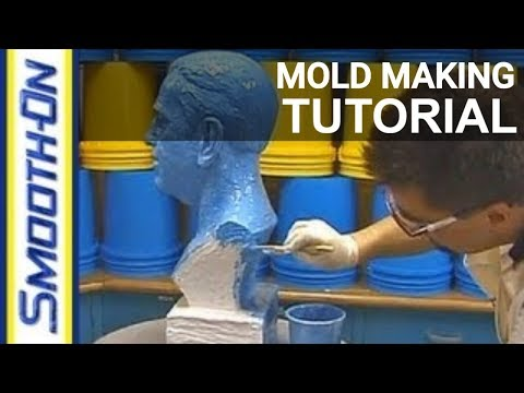Reproducing a 3-D Sculpture using Brush-On® 40 Mold Rubber