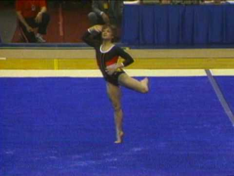 Mary Lou Retton - Floor Exercise - 1984 McDonald's American Cup