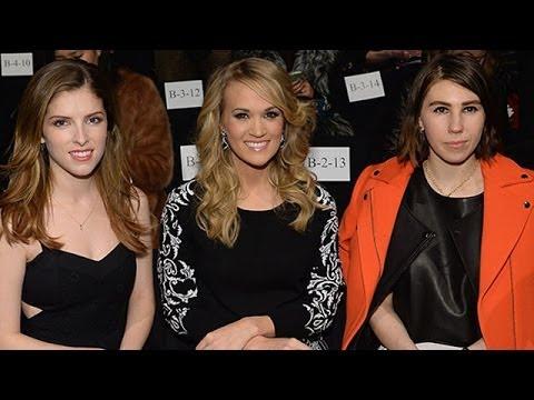 Carrie Underwood Makes New York Fashion Week Debut! | toofab