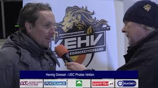 10.11.2018 | 19 00 | KEHV D1 | VELDEN - VÖLKERMARKT | INTERVIEW HERWIG GRESSL