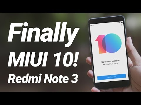 Redmi Note 3 MIUI 10 Stable Official Update Review