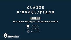 Classe d'orgue/piano de Varilhes