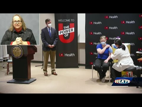 First group of Kentucky health care workers discuss day after getting COVID-19 vaccine