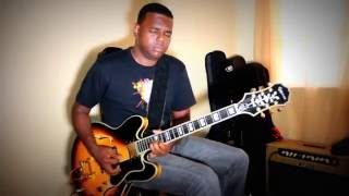 Judah B - Blues Jam in Em- (Epiphone Sheraton 2)