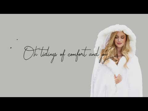 Carol of the Bells / God Rest Ye Merry Gentlemen - Lyric Video - Ana Cristina Cash