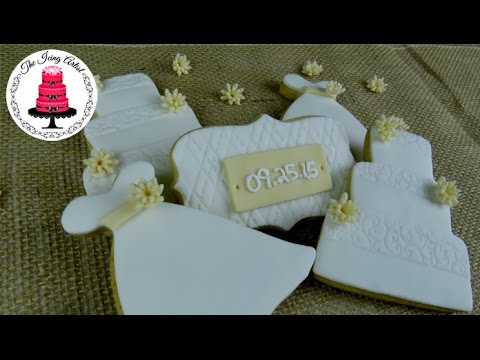 Rustic Wedding Shower Cookies
