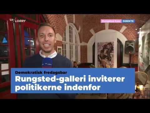 »Demokratisk Fredagsbar« at My Beautiful Gallery (19. September 2019)