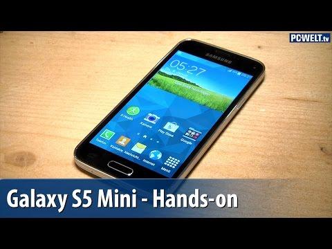Samsung Galaxy S5 Mini - Hands-on / Erster Test | deutsch / german