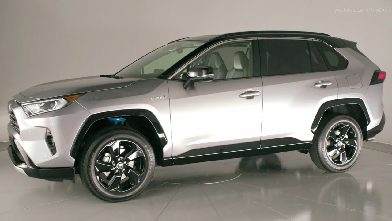 2019 Toyota Rav4 Xse Hybrid The Sportiest Rav4 Youtube