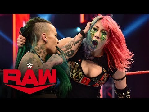 Asuka vs. Ruby Riott – Money in the Bank Qualifying Match: Raw, April 13, 2020