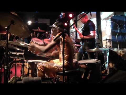 PACO SERY BAND Live at New Morning Paris , Hadrien FERAUD SOLO