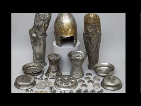 Tezaurul Romaniei . Comori antice de aur - Historical Gold Treasure of Romania