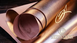 Sepici Leather - Rose Gold / Copper Veg Tan 3-4oz