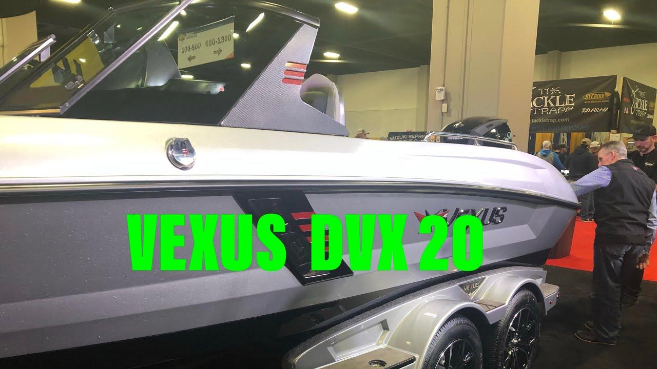 The New Fiberglass Vexus DVX 20