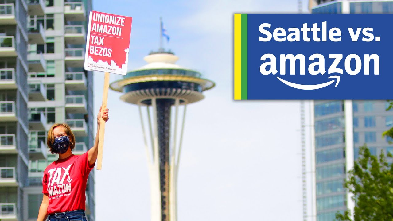 Why does Amazon want to leave Seattle?
