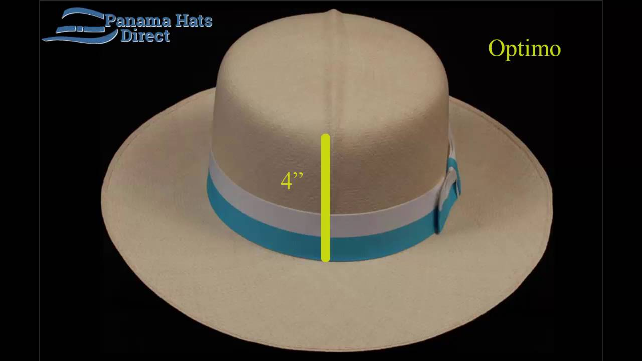 3d28445ae076b2 Optimo Panama hat - Rollable, Rollup - YouTube