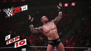 Finishing Moves Used for Royal Rumble Eliminations: WWE 2K19 Top 10 thumbnail