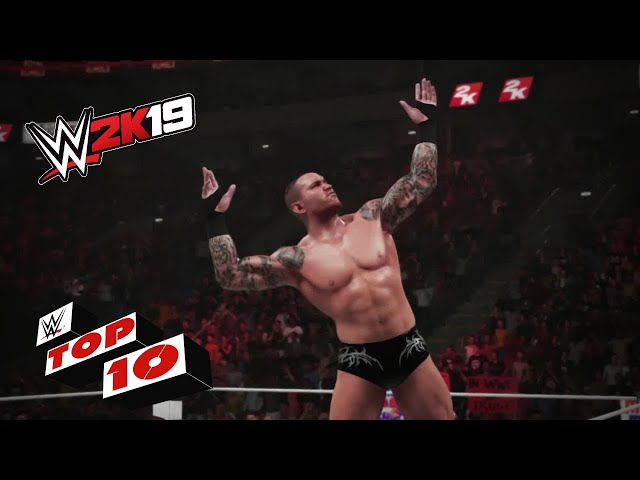 Finishing Moves Used for Royal Rumble Eliminations: WWE 2K19 Top 10