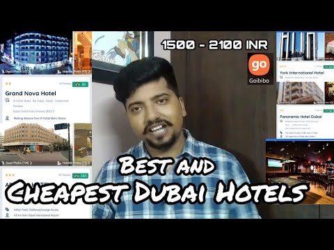 Cheapest And Budget Hotels In Dubai For Indians | Cheap Hotels In Dubai | Top 5 Hotels