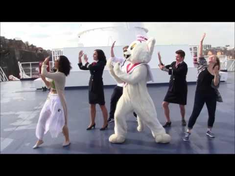 Hulahula goes Viking Line feat Ville Viking