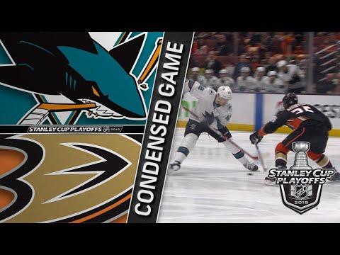 04/14/18 First Round, Gm2: Sharks @ Ducks