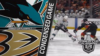 04/14/18 First Round, Gm2: Sharks @ Ducks
