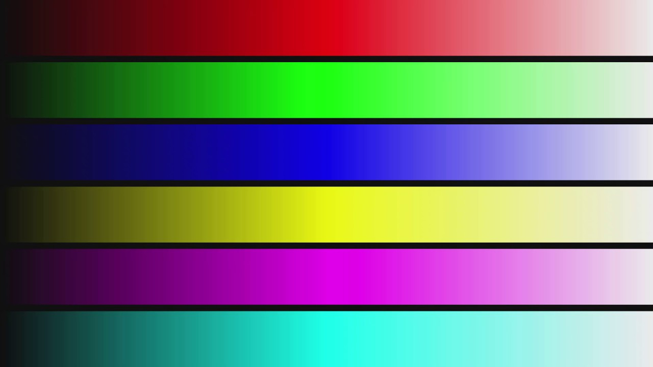 4k 24fps Test Pattern Full Color Check Murideo