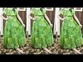 Beautiful maxi dress for 5 year girl    cutting and stitching