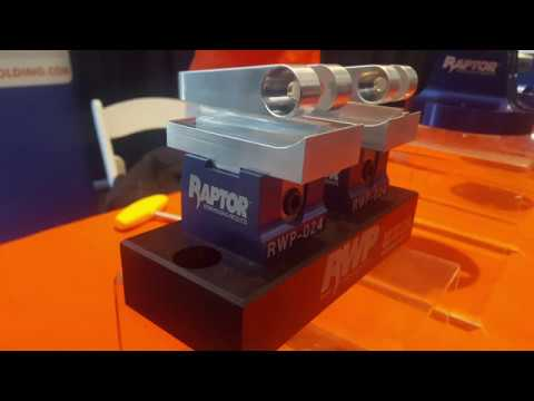 Raptor Workholding Demo HaasTec 2017 - YouTube