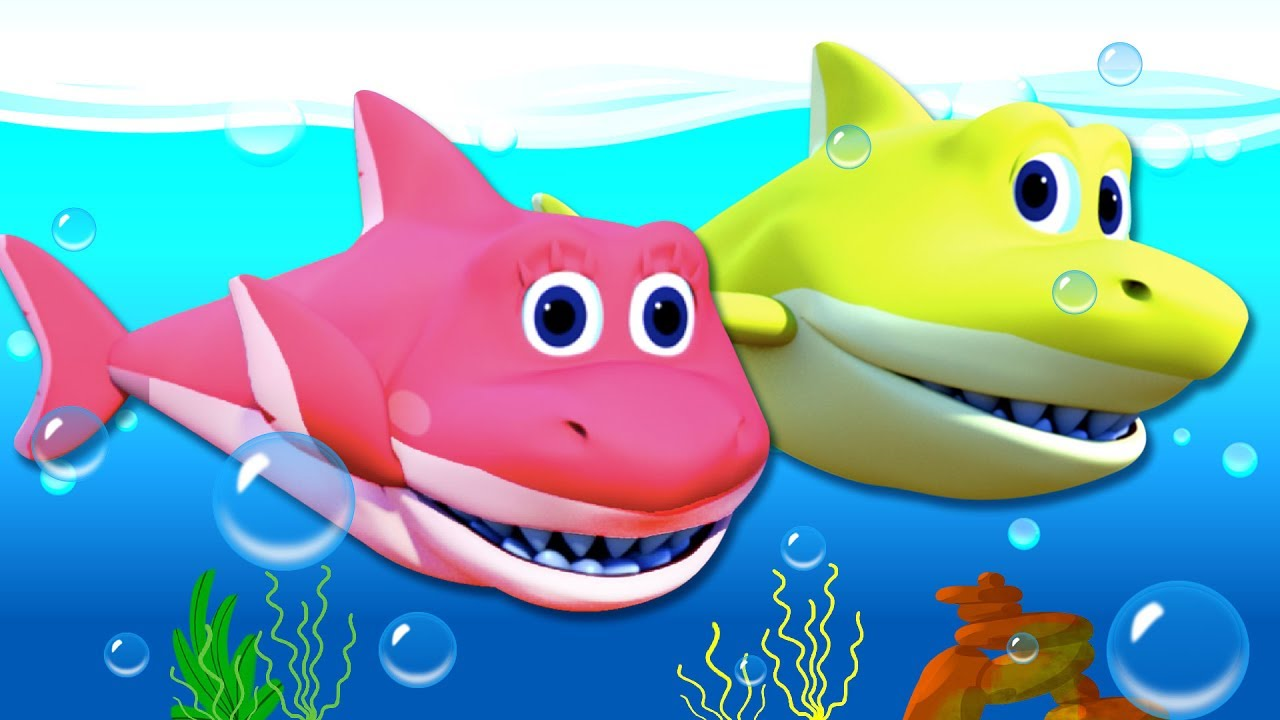 BABY SHARK SONG | 3D Nursery Rhymes For Kids By All Babies ...
