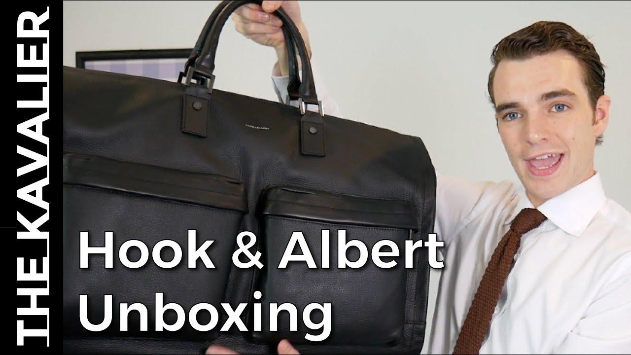 Hook And Albert Garment Weekender Unboxing Best Suit Ng Method