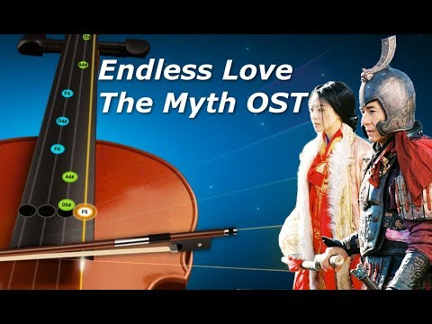 Endless Love - Violin Tutorial - The Myth OST