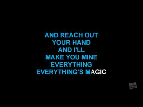 Everything's Magic in the style of Angels & Airwaves karaoke lyrics