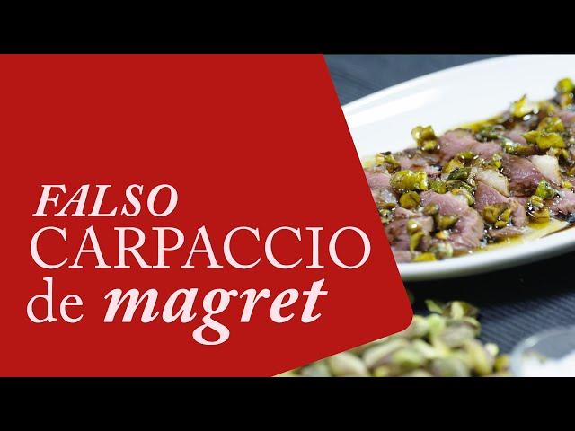 Receta de Magret de pato con pistachos 🥩 - Cocina Gourmet con Pato ⭐