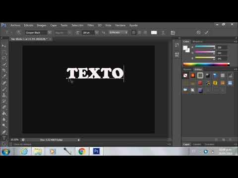 Cesar Fabian Martinez Cisneros tutorial de texto en hielo PS CS6