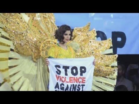 Las reclamaciones feministas ganan terreno en Miss Universo