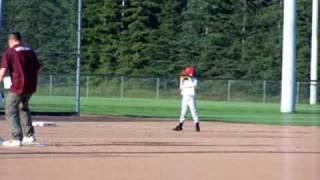 Riker Plays 3rd Base
