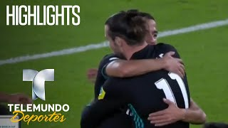 Highlights: Al Jazira Club 1-2 Real Madrid   Copa Mundial de Clubes FIFA   Telemundo Deportes